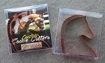 Sport Horse Copper Plated Cookie Cutter