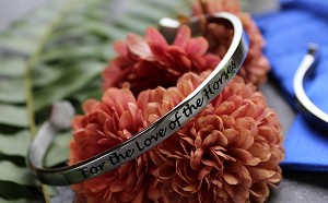 Stainless Steel Message Bracelet